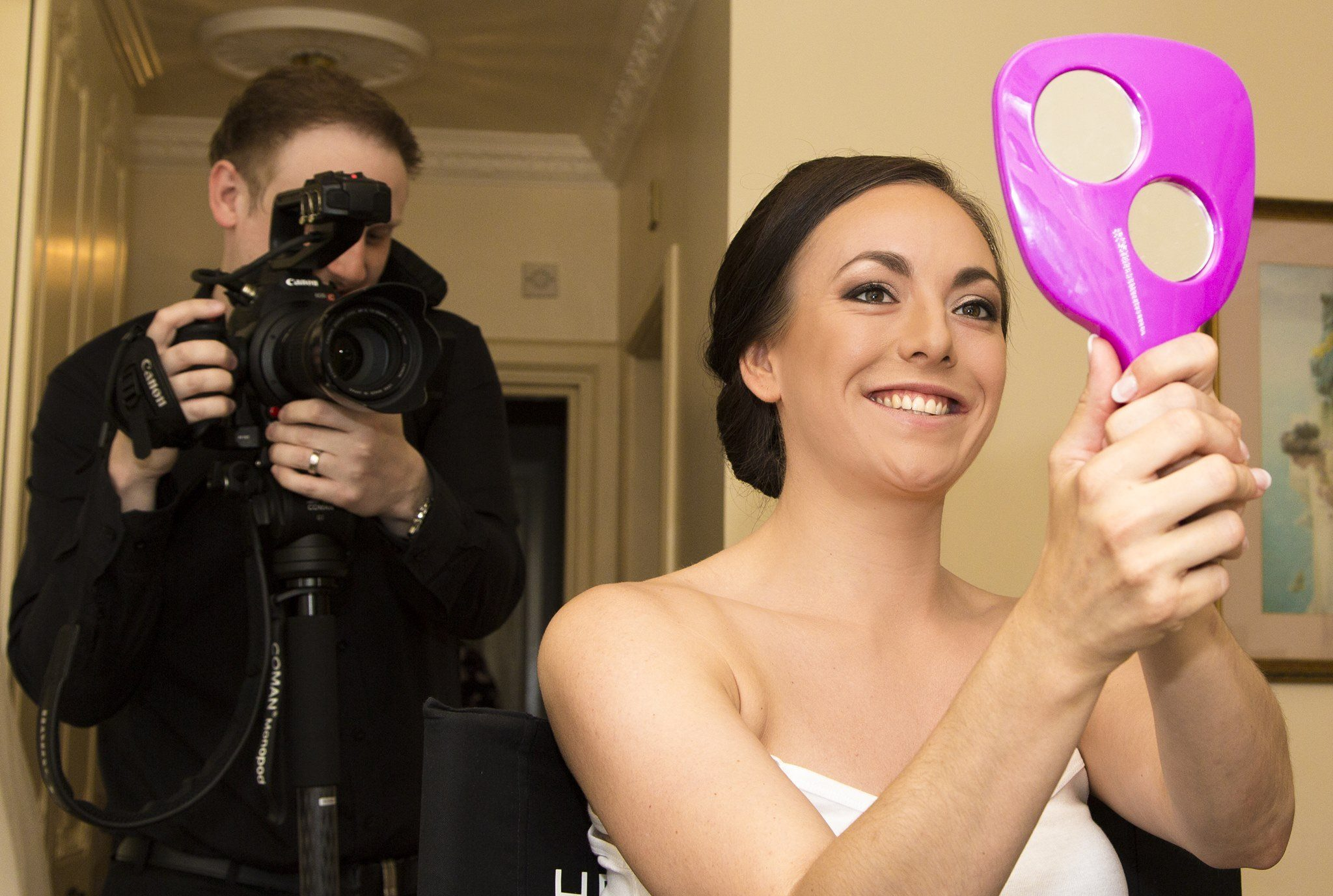 midlands wedding videographer Hoar Cross Hall